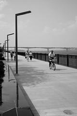 (nVa17) Tags: river embankment quay bridge stranger strangers people city citizen summer perm        street streetphoto streetphotography blackandwhitephotography blackwhite blackandwhite bnw bw  53mm fujifilm fujifilmru