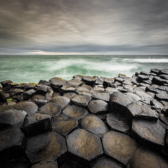 The Causeway (Matthew Woodhouse) Tags: ireland sky seascape water clouds canon stones coastal national trust co giants myth causeway antrim
