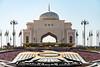 Presidential Palace roundabout (Darth Jipsu) Tags: abu dhabi uae arabian peninsula presidential palace palais présidentiel blanc dôme faucon falcon