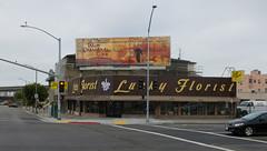 Billboard Archeology (kukkurovaca) Tags: canons110 oakland telegraphavenue billboards