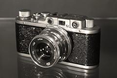 Zorki 1 Industar-26m 5cm f2.8 (nice cute little camera) (Sean Anderson Classic Photography) Tags: zorki 1 industar26m 5cm f2 zorki1 5cmf28 sonya700 industar61lz tessardesign 4elementlens leicaiicopy