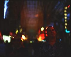 Sport & Chef (Zeb Brown) Tags: vegas street lights pentax 67 6x7 105mm f24 bokeh
