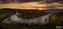 Seaton Sluice sunset (PhilReayPhotography) Tags: seatonsluice sunset