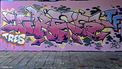 Den Haag Graffiti : TRES (Akbar Sim) Tags: tres binckhorst denhaag thehague agga holland nederland netherlands graffiti akbarsim akbarsimonse