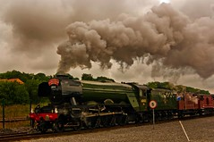 The flying scotsman (WISEBUYS21) Tags: national railway museum york shildon yorkshire durham iconic steam train golden age engine coal powered rail rails loco locomotive wisebuys21