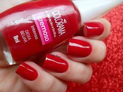 Colorama - Deixa Beijar (Barbara Nichols (Babi)) Tags: colorama deixabeijar vermelho red rednailpolish nails nailpolish naillacquer mos unhas