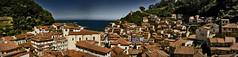 Cudillero (Sergio Casal) Tags: panormica panoramic cudillero asturias cantbrico village nature sea blue photomerge nikon