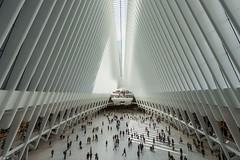 The Oculus Side Centre (Wallace Flores) Tags: d4s nikon newyorkstate newyorkcity lowermanhattan worldtradecenter theoculus oculus