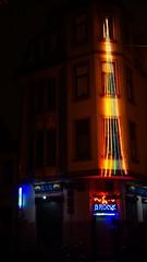 DSC04174 (kremer.christiane) Tags: germany alemania bremen night noche light luz colour color rainbow arcoiris bar contrast contraste