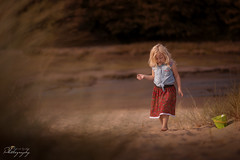 ... a little sand between your toes ... (Margarita K...) Tags: southwales south wales beautifulwales beach sand child childhood fairytales portrait landscape goldenhour ngc nikon d5200 mkphotography margaritakphotography