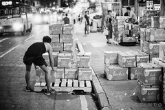 Fruit Market before Closing (Taomeister) Tags: nikkor5012ais hongkong fruitmarket yaumatei fujifilmneopan400 nikonfm3a