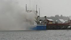 Fiskebten Bfjord brenner (Redningsselskapet) Tags: brann btbrann stormbull livreddet reddet 2016 kristiansund