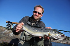 Best Fishing Sunglasses | Best Fishing Gear (timothylaurijssen) Tags: flyfisher fisherman trout seatrout catch satisfied happy pleased joy success outdoor sports fishing line sunglasses glasses rod gear equipped waders lifestyle flyfishing active man mouth scales spots proud water sea coast fish gills sweden