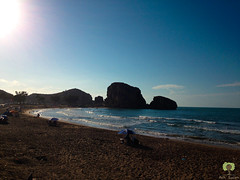 Plage Moscarda 2 (Ath Salem) Tags: tlemcen algrie mars ben mhidi portsay moscarda frontire maroc coucher de soleil sunset hammam boughrara maghnia drapeau flag beni snassen dcouverte tourisme maghreb littoral cte