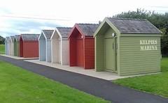 Boat Houses (Pauline Deas) Tags: kelpies horses metal sculptures falkirk scottish scotland boat houses