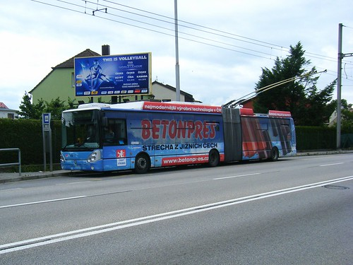 Ceske Budejovice trolleybus No. 65