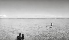 Alvord Desert, Oregon (austin granger) Tags: alvorddesert chair emptiness self photography shadows time playa cracks memory record document mind noblex