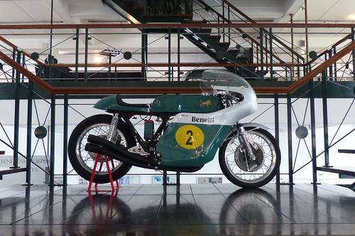Benelli Quattro 500 racer green r