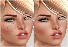 Freckles for the Win! (Prudence Rexroth) Tags: fabfree evary catwaanna aviglam freckles sl secondlife