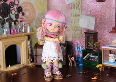 Folk's Heart #5 (Arthoniel) Tags: folk summoner lati latidoll latiyellow tan limited pharaohscurse doll bjd balljointeddoll collection diorama ooak laboratory roombox dollhouse rement callcifer howlsmovingcastle fire miniature tiny toy figure elf denaliwind custom faceup