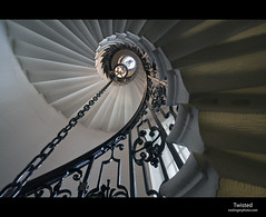Chapel Stairs (esslingerphoto.com) Tags: city uk greatbritain light england college church architecture stairs canon photography eos europe cityscape britain greenwich great stpauls royal rail chapel staircase 5d christopherwren railing naval stpeter esslinger esslingerphotocom