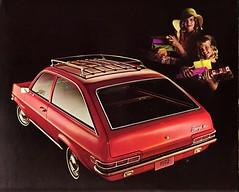 1972 Vauxhall Firenza SL Station Wagon (Canada) (aldenjewell) Tags: canada station wagon sl pontiac firenza 1972 brochure vauxhall