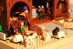 9799 (c.behrens) Tags: christmas david barn joseph star sheep lego maria jesus crib jul betlehem nativity 2012 3wisemen krybbe