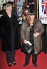 Dawn French and guest Viva Forever VIP night held at the Piccadilly Theatre - Arrivals. London, England