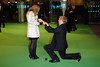 The Hobbit: An Unexpected Journey - UK premiere - Man proposes to girlfriend