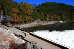Ocoee Rafters 3 (Mr. Low Notes) Tags: fall river 1996 olympics ocoee rafts quot waterquot quotwhite riverquot quotocoee quot1996