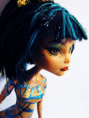 GR Cleo (nonaptime) Tags: monster high ooak steam cleo rule denile recolor ghouls repaint robecca