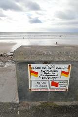 Liscannor Bay beach in Lahinch Village in County Clare, Ireland (RYANISLAND) Tags: county ireland irish beach town europe clare european village beaches lahinch countyclare beachtown irishvillage lehinch liscannorbay liscannorbaybeach