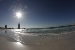 Jumera Beach (Jonny Cairns) Tags: trip sea sun holiday beach sand dubai journey whitesand daytrip jumera
