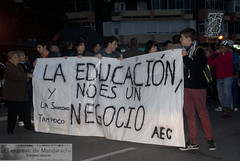 Education is not a business (Anivalverde) Tags: spain education business goverment manifestacin educacin negocio demostrate