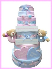 Nappy Cake (8) (Labours Of Love Baby Gifts) Tags: babygift nappycake nappycakes newbabygifts laboursoflovebabygifts