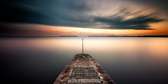 dover (richard carter...) Tags: longexposure sunset sea canon pier kent harbour widescreen crop 169 dover eos5dmk2