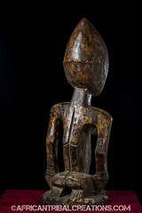 SongyeFigure002a (African Tribal Creations) Tags: wood art mask antique african tribal carving figure congo stool drc creations songe handcarved democraticrepublicofcongo songye wasonga songhay basonge bassongo basongye bayembe