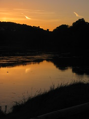 Riverside Silhouettes (Dave Roberts3) Tags: trees water wales landscape newport gwent bej citrit naturethroughthelens coth5
