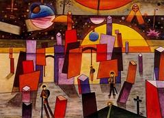 Solar, Xul (1887-1963) - 1932 Palacio Bria (Museum of Fine Arts, Buenos Aires, Argentina). (RasMarley) Tags: argentina 1932 watercolor solar 1930s surrealism painter 20thcentury argentinian xulsolar publiccollection palaciobria