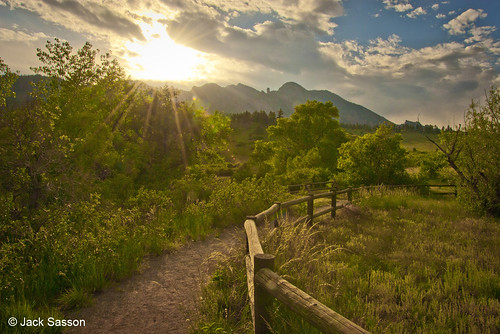Photo - Sunset at Homestead Trailhead