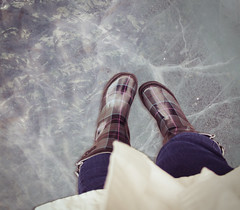 (bisbef) Tags: winter music cold feet ice water digital photoshop canon rebel lyrics boots edited wellies deathcabforcutie deathcab