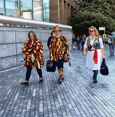 South Bank Morris dancers (It's No Game) Tags: colour london southbank hmsbelfast morris thamespath morrisdancer