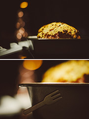 Day 358/365: Christmas Ham {Explored} (jennydasdesign) Tags: christmas food 50mm diptych dof bokeh grain ham stove 365 julskinka project365 365days explored omnomnom dt50mmf18sam sonyslta57