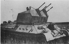 2 cm Flakvierling auf Fahrgestell T-34 747(r) (Krueger Waffen) Tags: war tank wwii armor armored waffenss flak tanks panzer secondworldwar afv worldwartwo armoredvehicle armoredcar wehrmacht t34 sdkfz pzkpfw selfpropelledgun flakpanzer beutepanzer flak38 secondworldwartanks worldwartwotanks tanksofthesecondworldwar antiaircraftvehicles