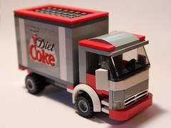 LEGO Diet Coke Truck (notenoughbricks) Tags: lego sprite coke dietcoke cocacola hic therealthing legocity legotruck legomoc legodeliverytruck legosoda legosodatruck