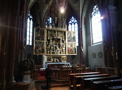 Michael Pacher, View of Sankt Wolfgang Altarpiece
