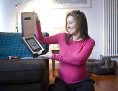 Kindle! (gc1) Tags: christmas rachael lizzie pregnant kris hogmanay 2012 pregos
