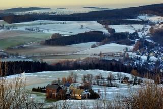 downhill from Schwartenberg