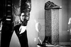 Street Self Portrait (Simone De Iuliis) Tags: street portrait bw italy white selfportrait black self amazing nikon italia campania deep streetphotography bianco nero salerno d700 vigiliacapodanno