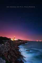 Sky is the limite..... (FredConcha) Tags: lighthouse night stars lights nikon sigma le farol 1020 90 cascais 2013 fredconcha
